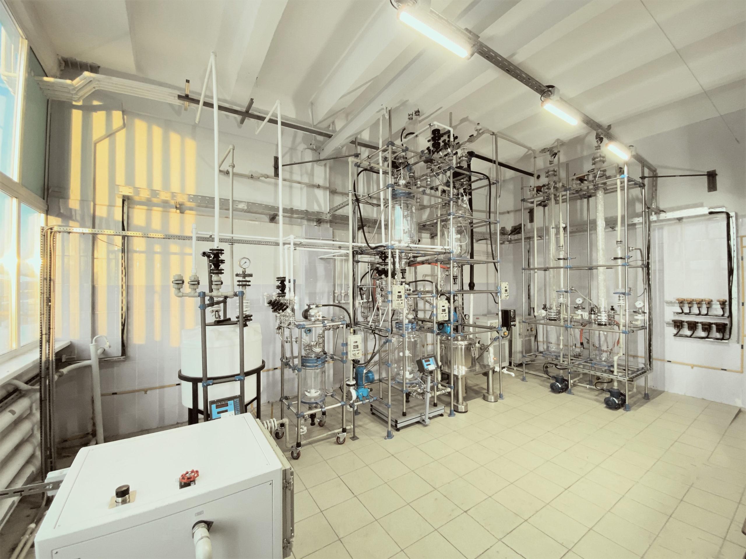 Реакторное оборудование из боросиликатного стекла